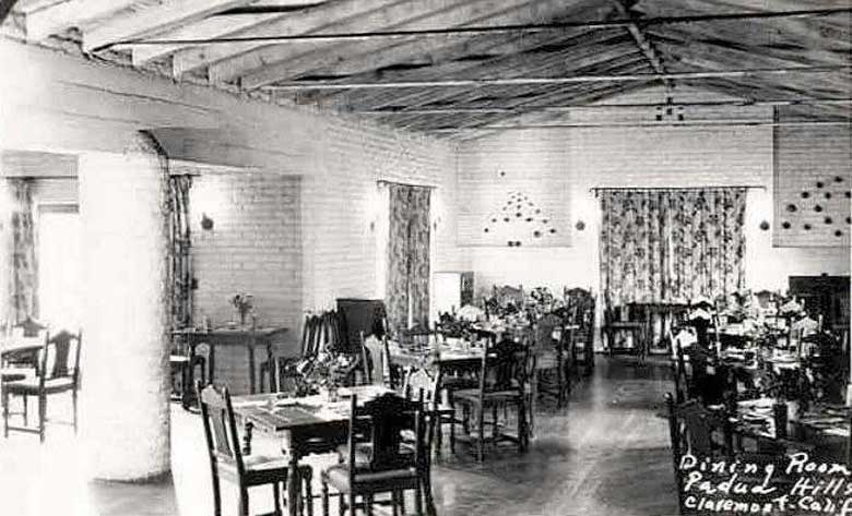 Theatre Image #15                            Historic Postcard of Padua Hills Dining Room