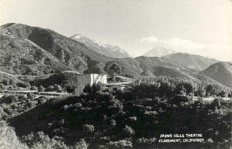 Theatre Image #4 - Padua Hills Historic Postcard